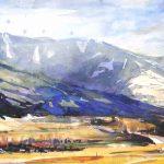 Salzachtal bei Bruck 27x70